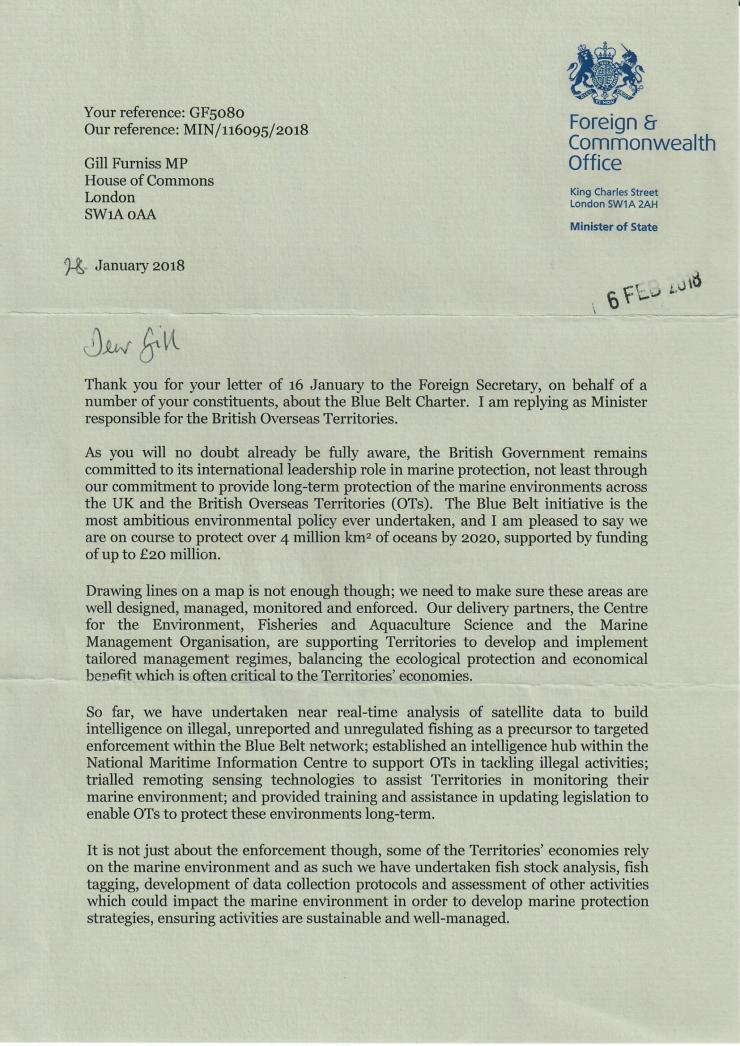 Response from FCO Page 1