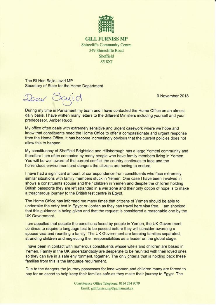 Letter to Sajid Nov180001
